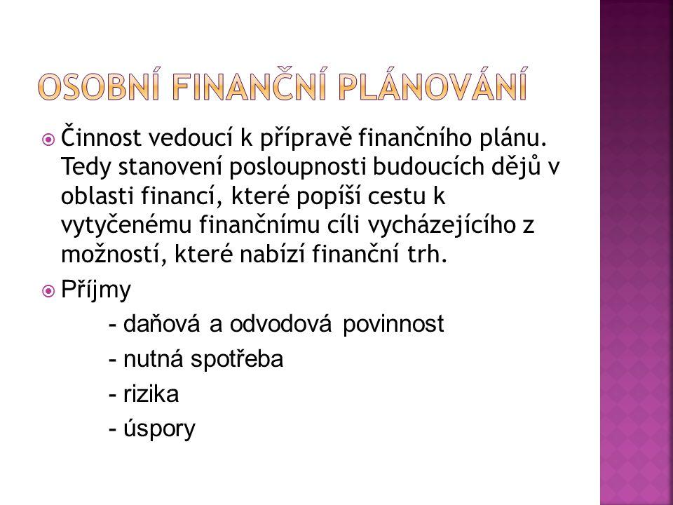 Osobní finanční plánování