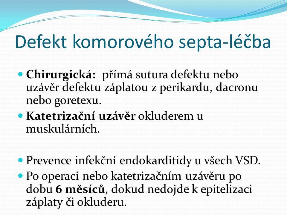 Defekt komorového septa-léčba