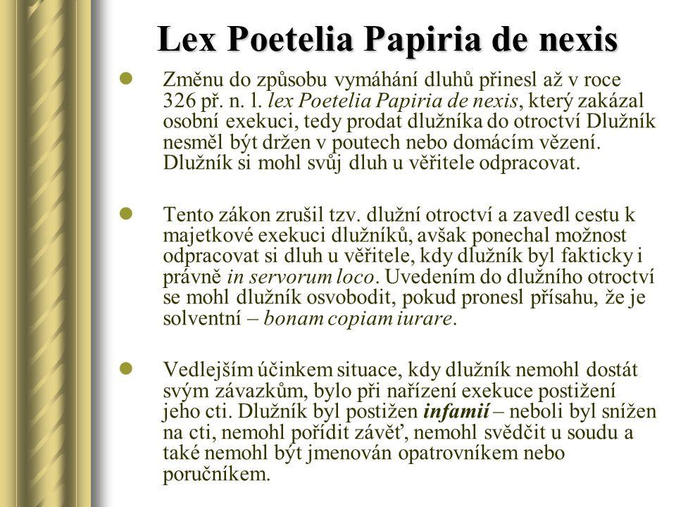 Lex Poetelia Papiria de nexis