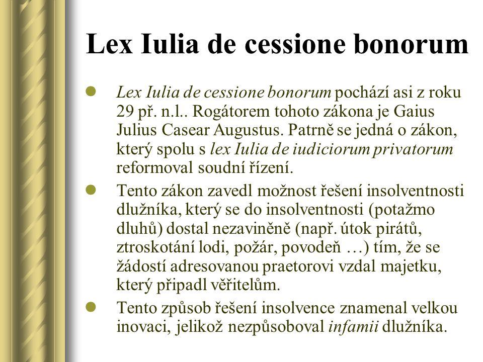Lex Iulia de cessione bonorum