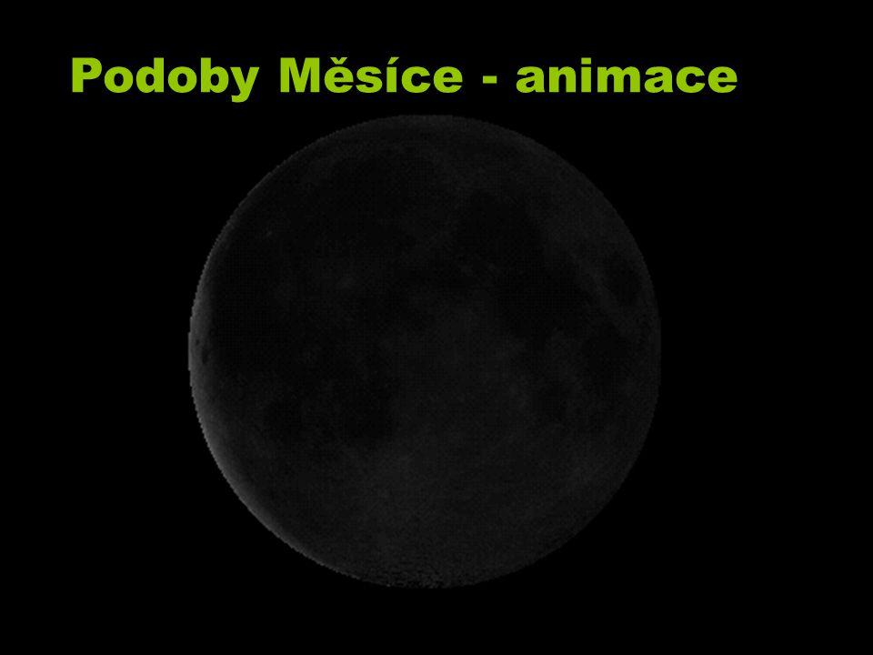 Podoby Měsíce - animace