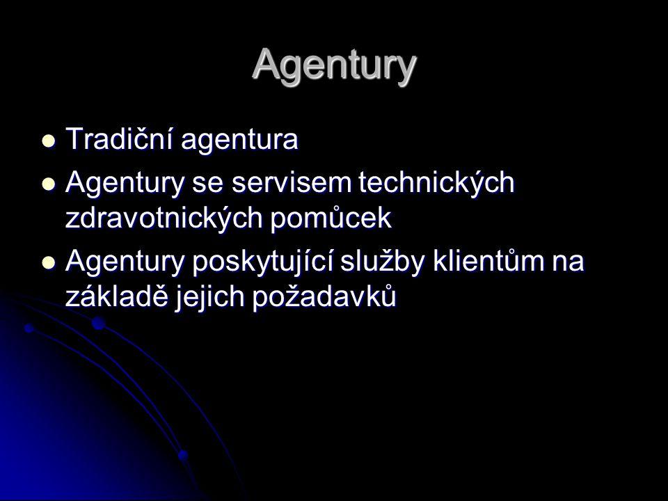 Agentury Tradiční agentura