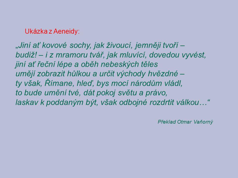 Ukázka z Aeneidy: