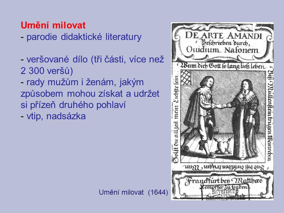 parodie didaktické literatury