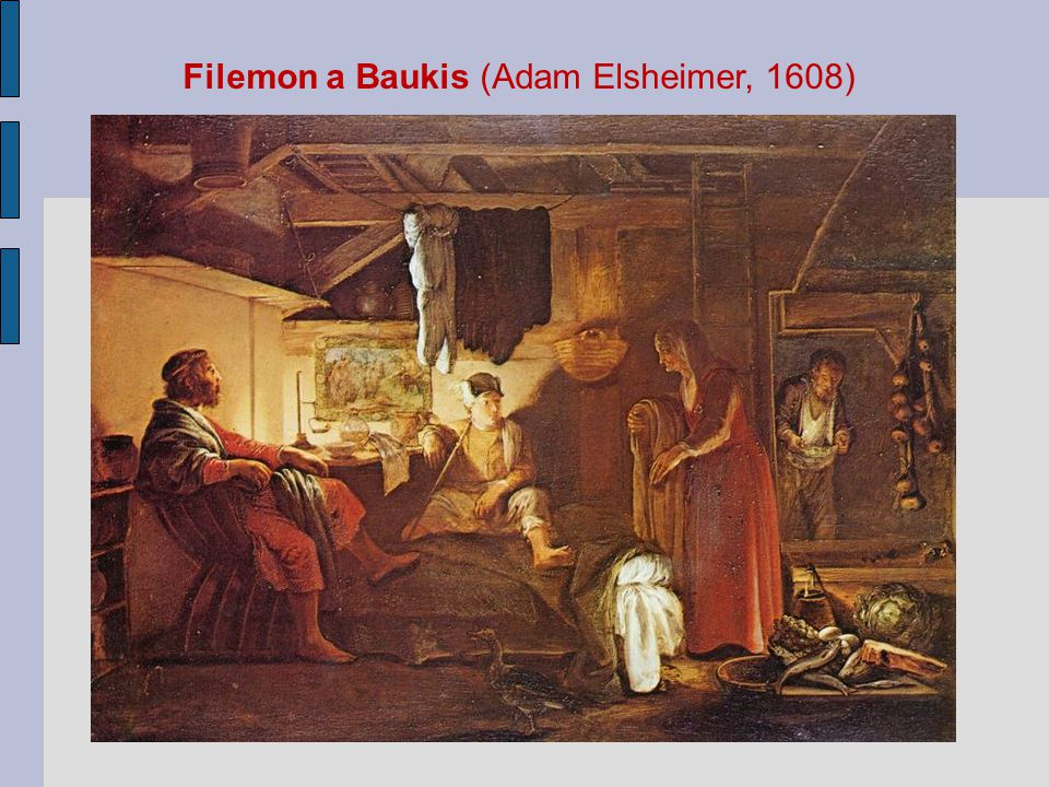 Filemon a Baukis (Adam Elsheimer, 1608)
