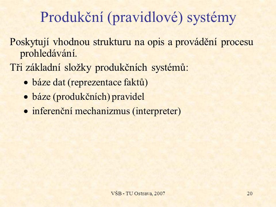 Produkční (pravidlové) systémy
