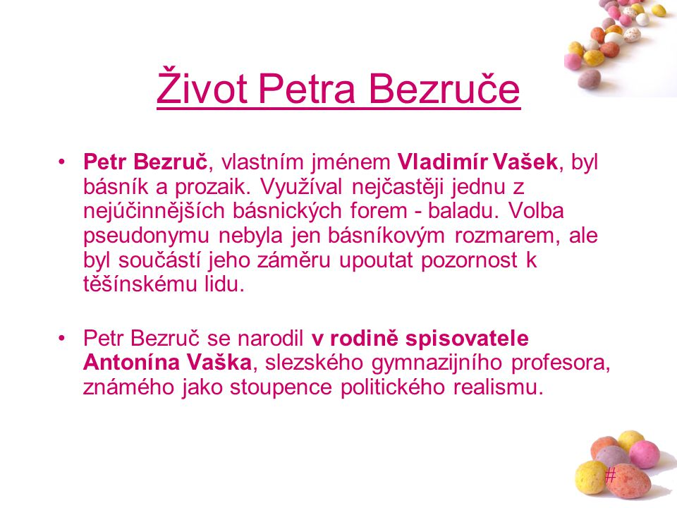 Život Petra Bezruče