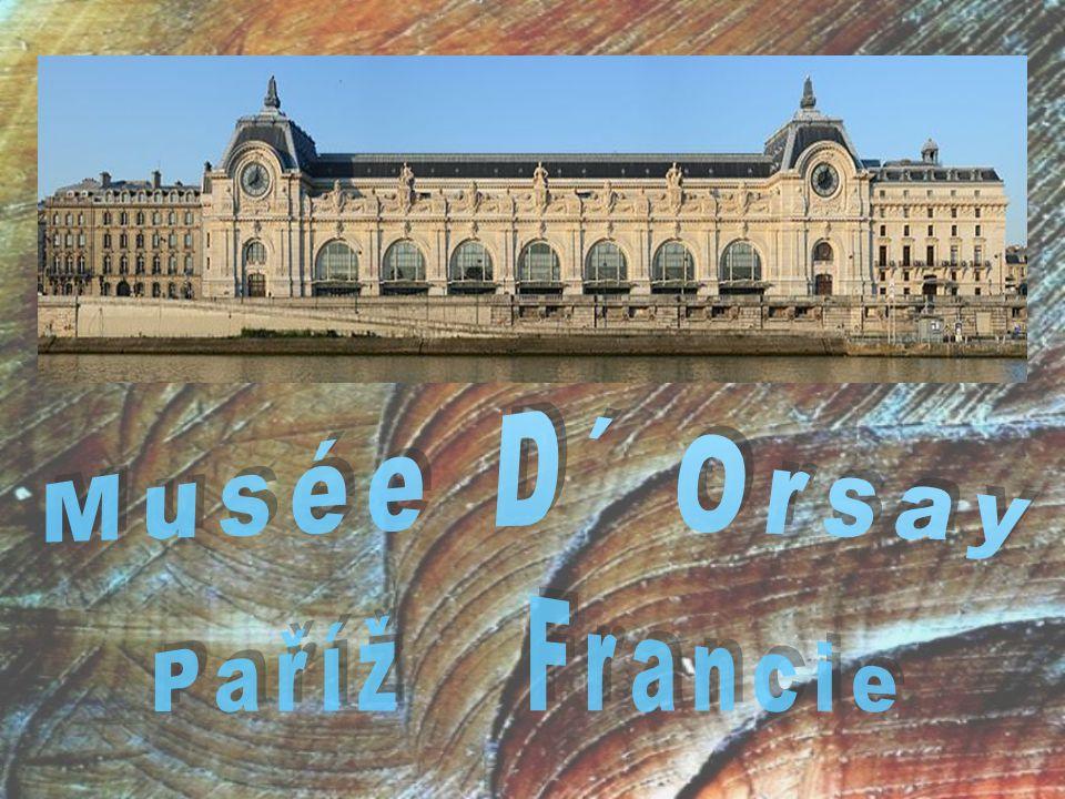 Musée D´ Orsay Paříž Francie
