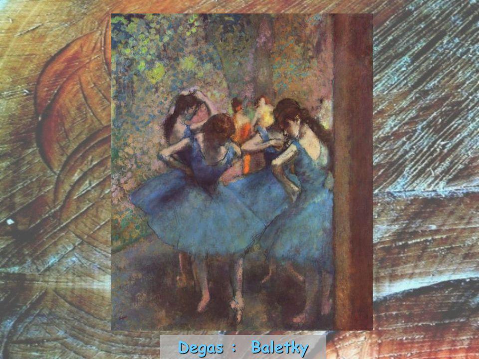 Degas : Baletky