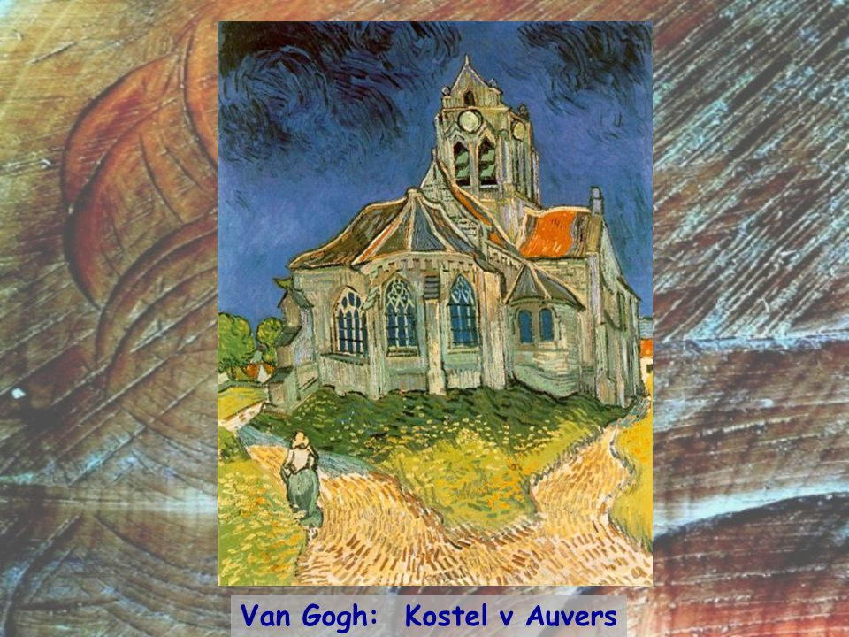 Van Gogh: Kostel v Auvers