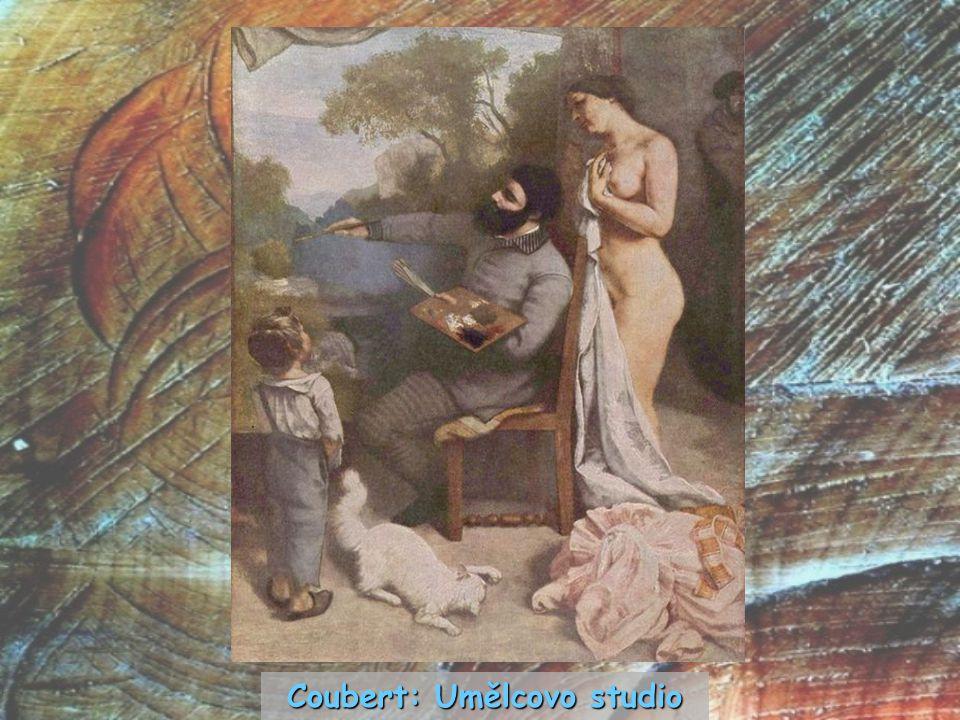 Coubert: Umělcovo studio