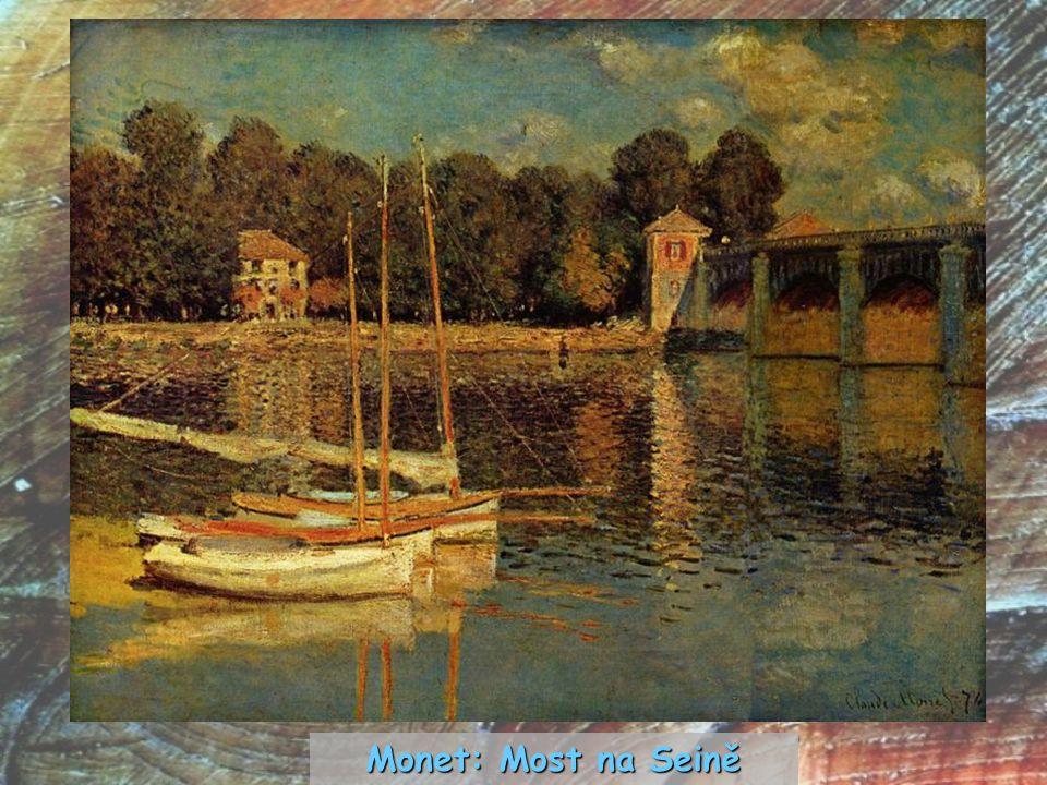 Monet: Most na Seině