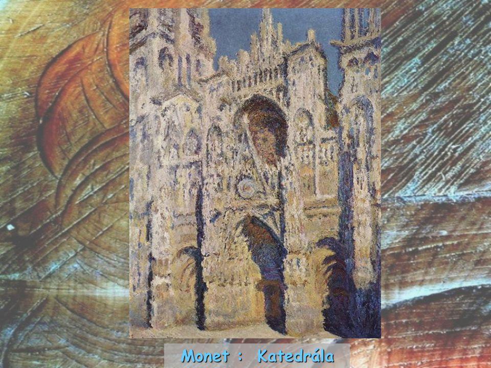 Monet : Katedrála