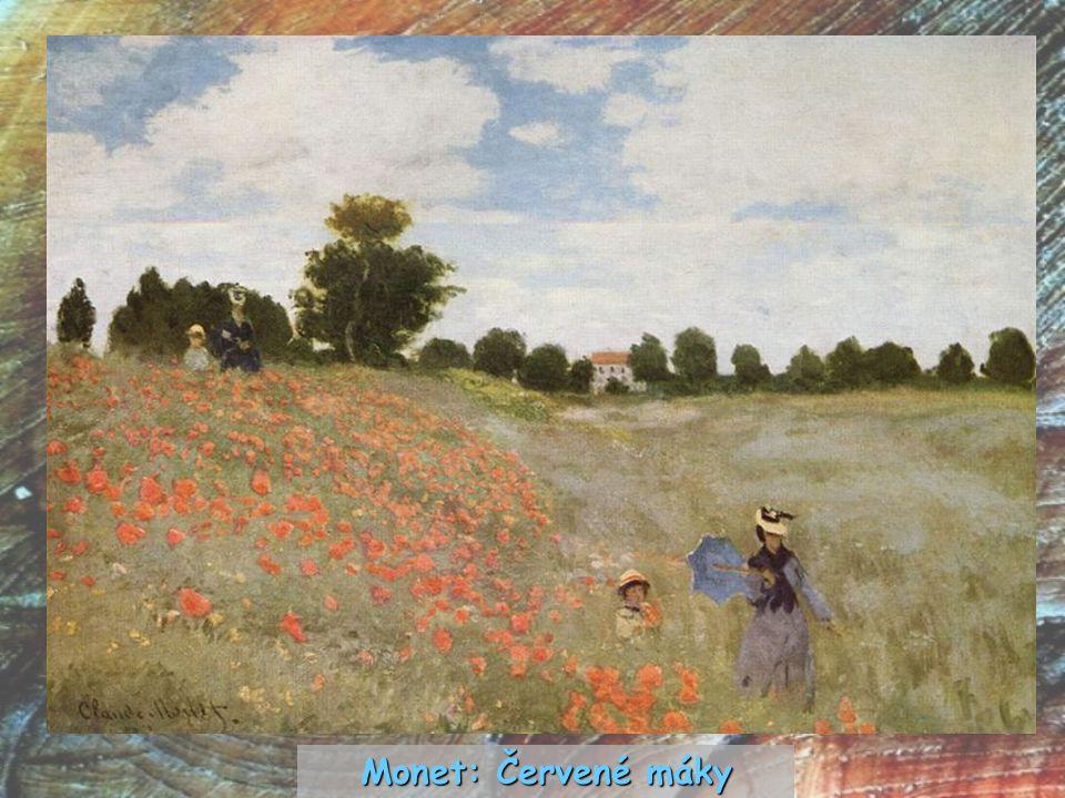 Monet: Červené máky