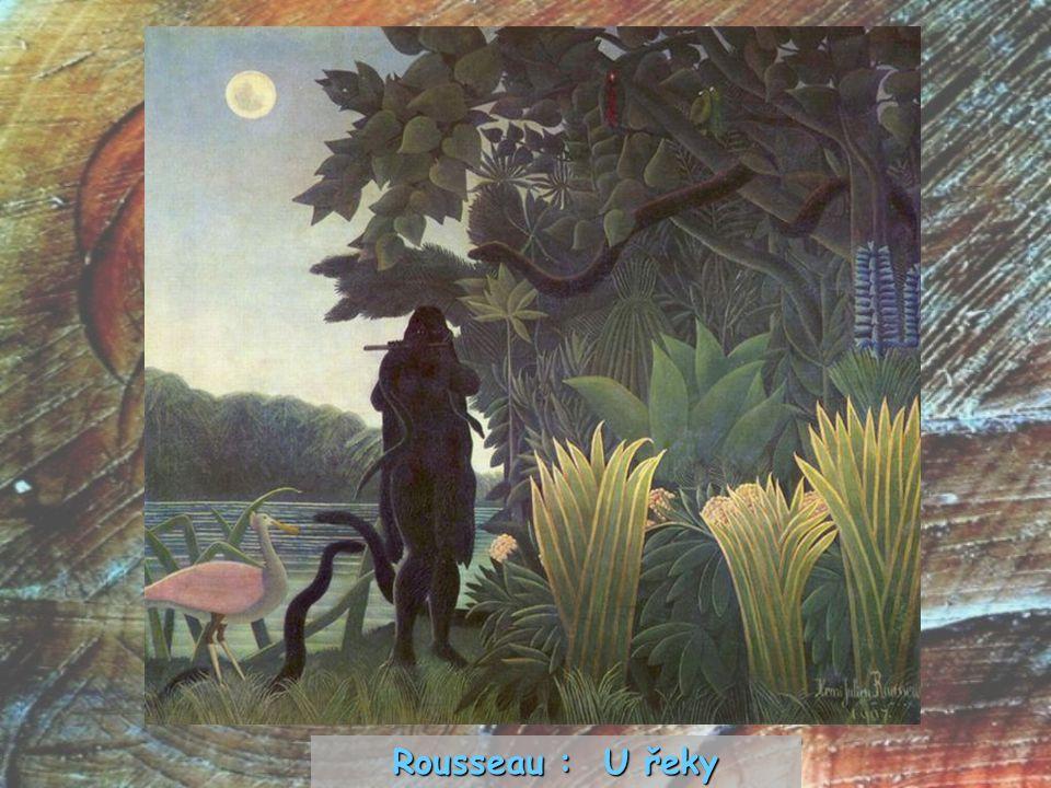 Rousseau : U řeky