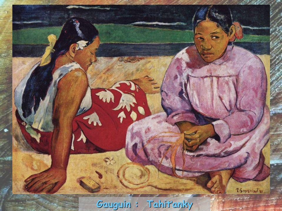 Gauguin : Tahiťanky
