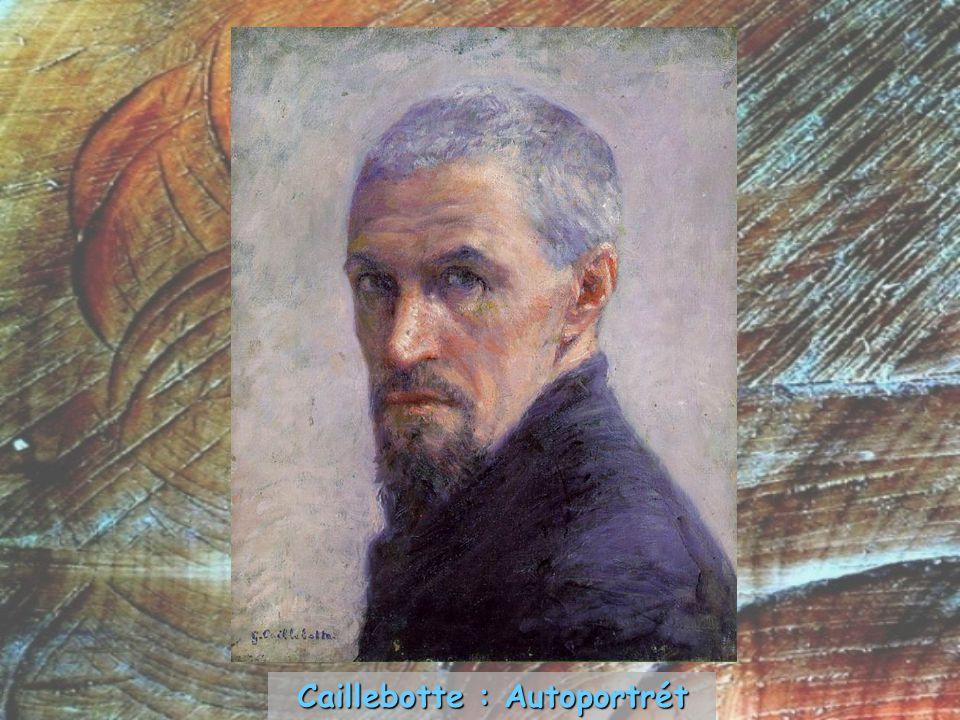 Caillebotte : Autoportrét