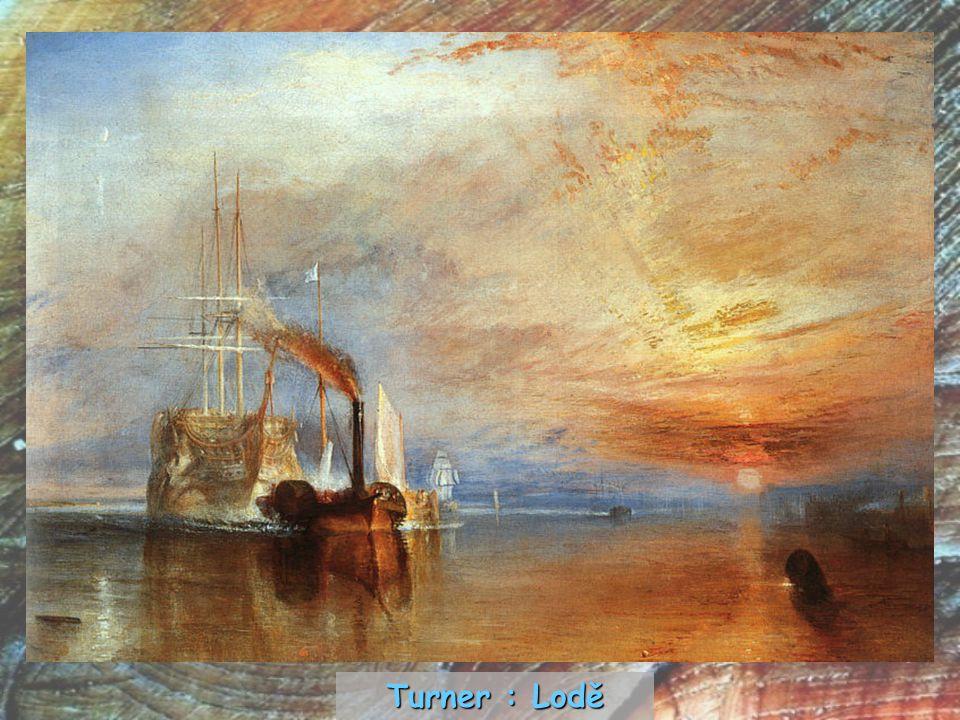 Turner : Lodě