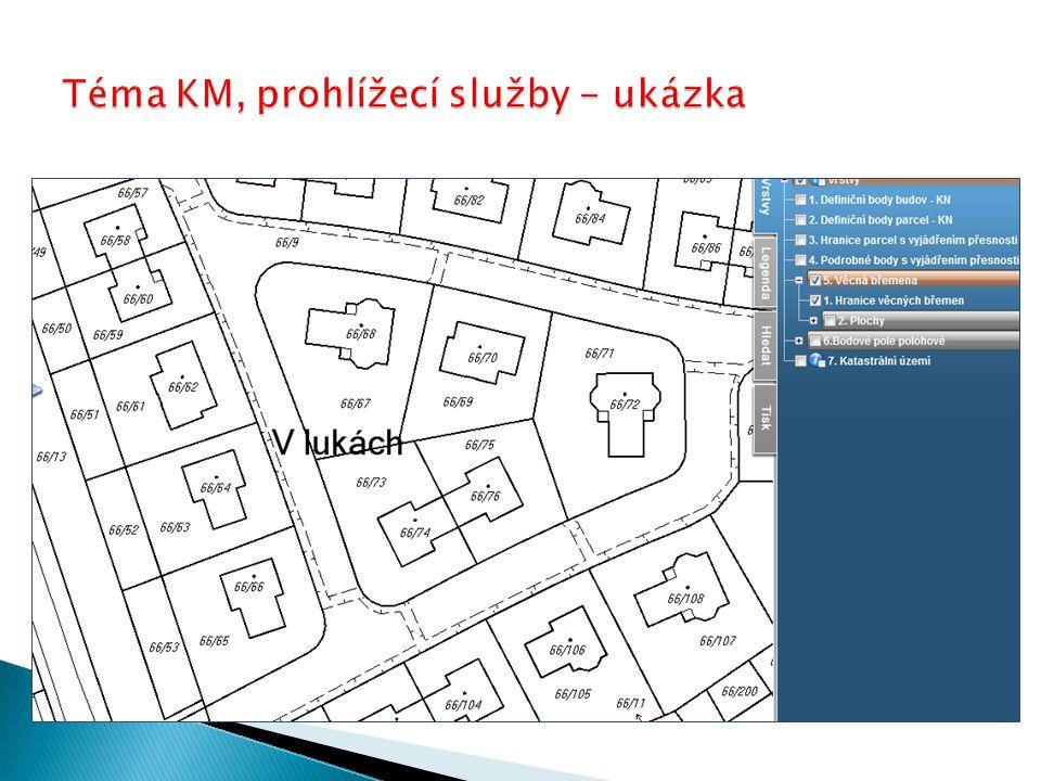 Téma KM, prohlížecí služby - ukázka
