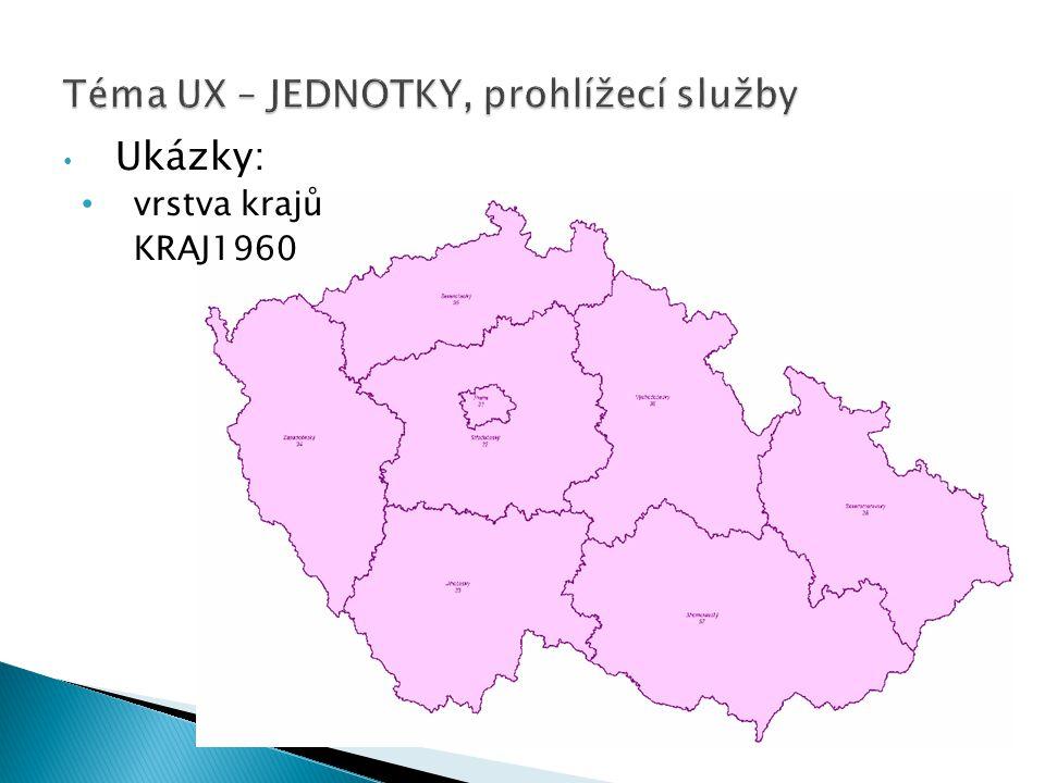 Téma UX – JEDNOTKY, prohlížecí služby