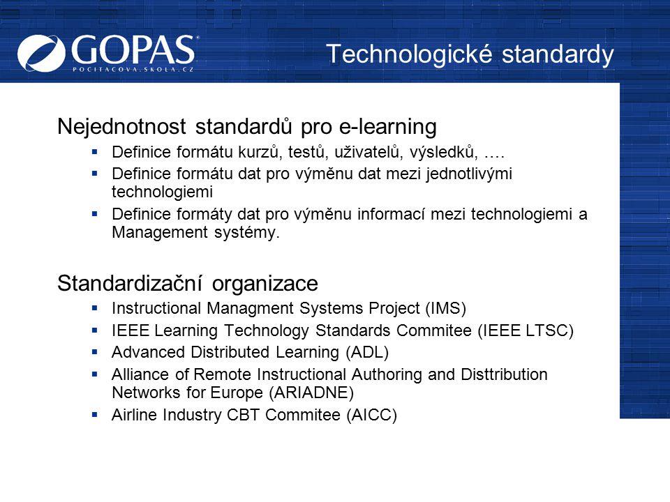 Technologické standardy