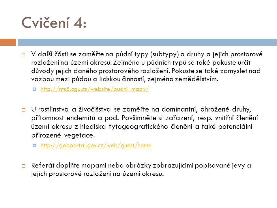Cvičení 4: