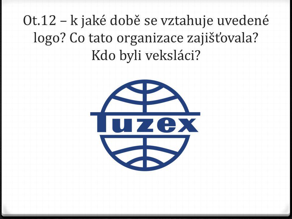 Ot. 12 – k jaké době se vztahuje uvedené logo
