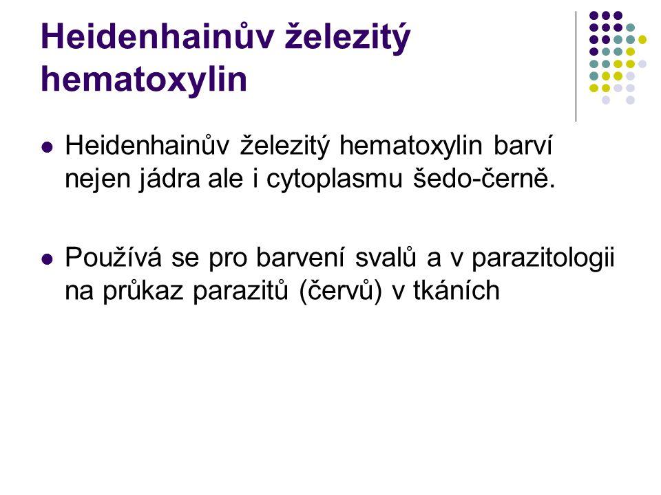 Heidenhainův železitý hematoxylin