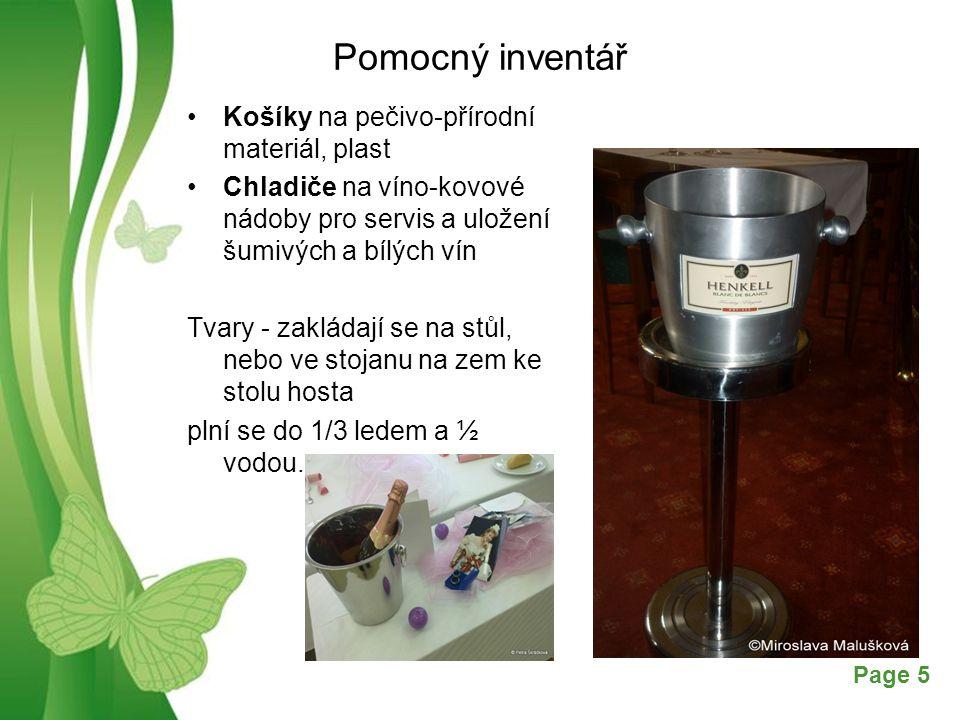 Pomocný inventář Košíky na pečivo-přírodní materiál, plast