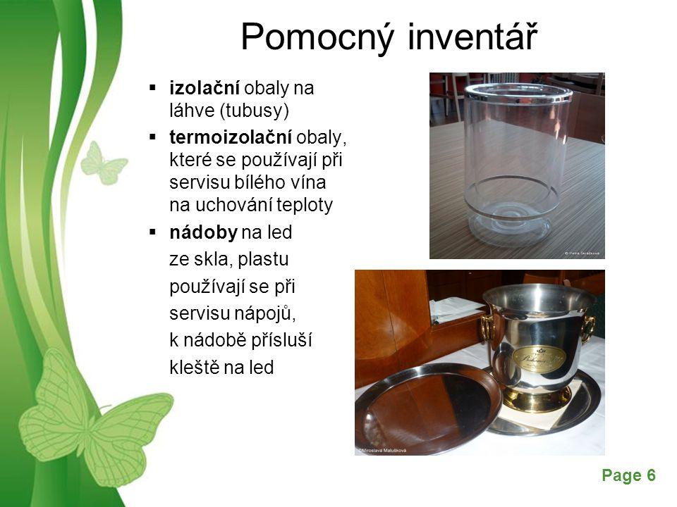 Pomocný inventář izolační obaly na láhve (tubusy)