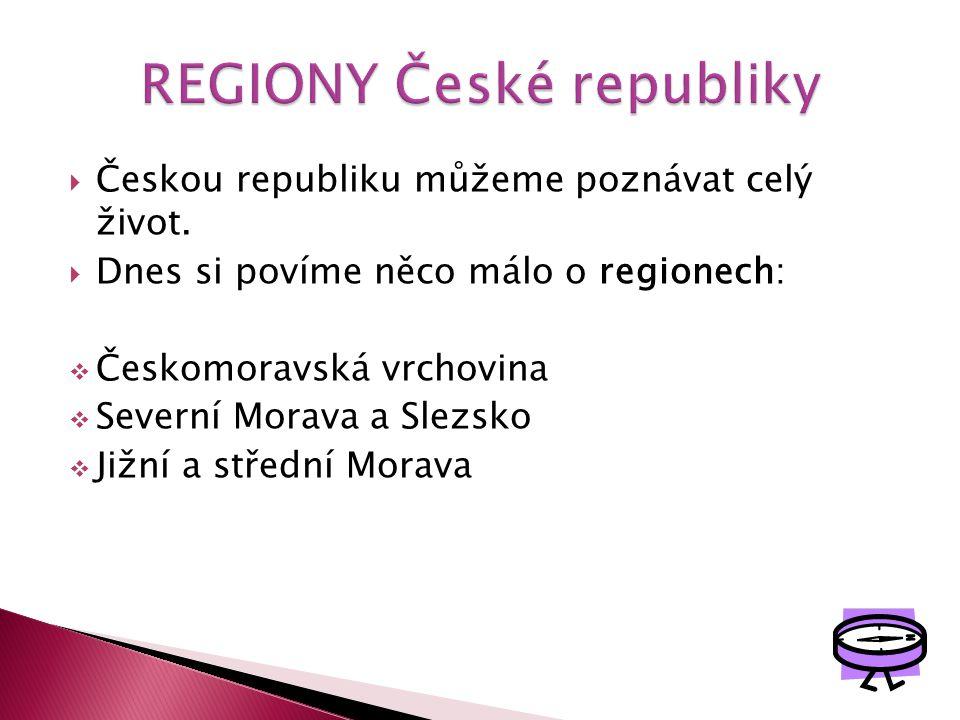 REGIONY České republiky