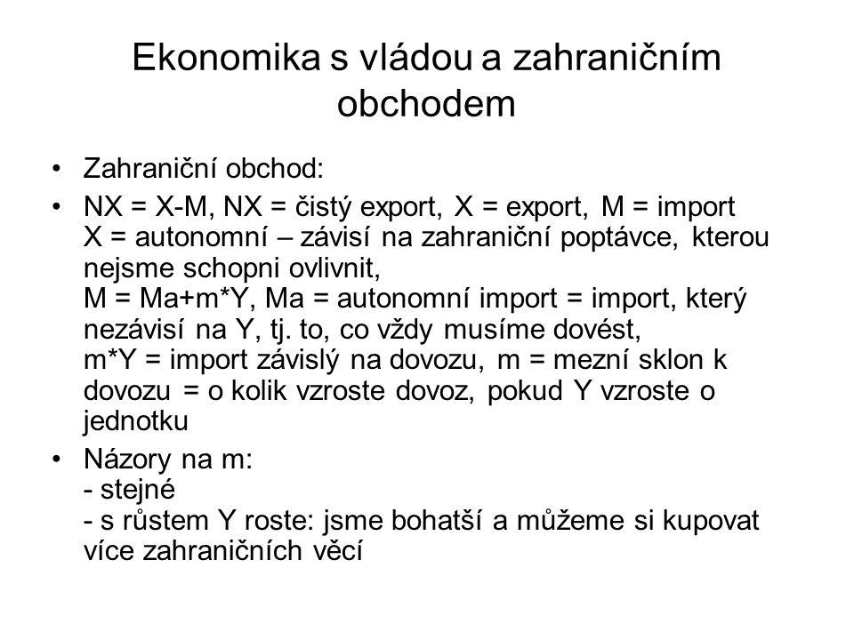 Ekonomika s vládou a zahraničním obchodem