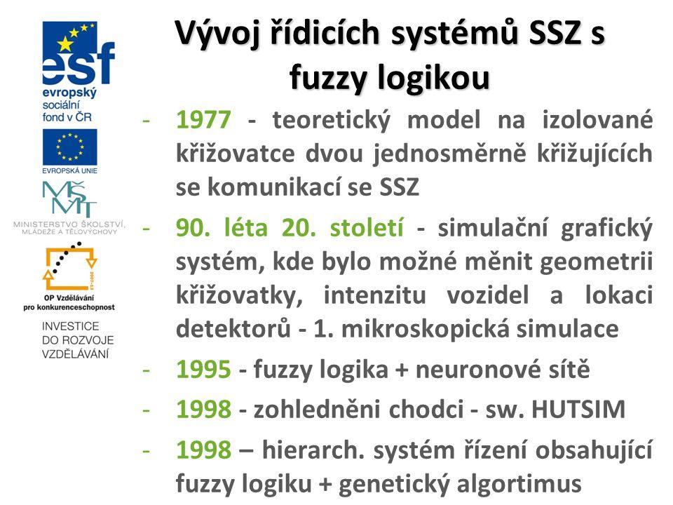 Vývoj řídicích systémů SSZ s fuzzy logikou