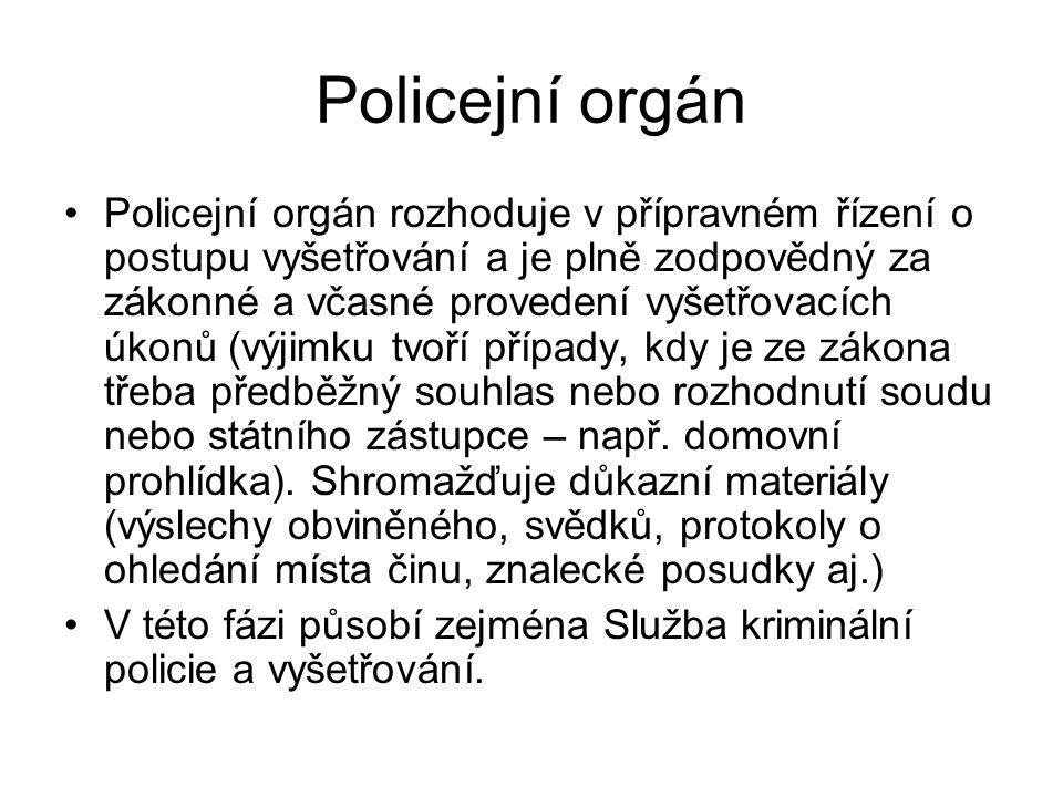 Policejní orgán