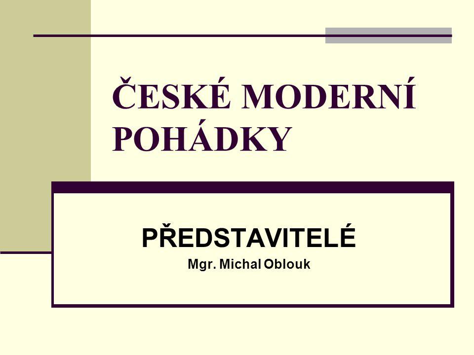 PŘEDSTAVITELÉ Mgr. Michal Oblouk