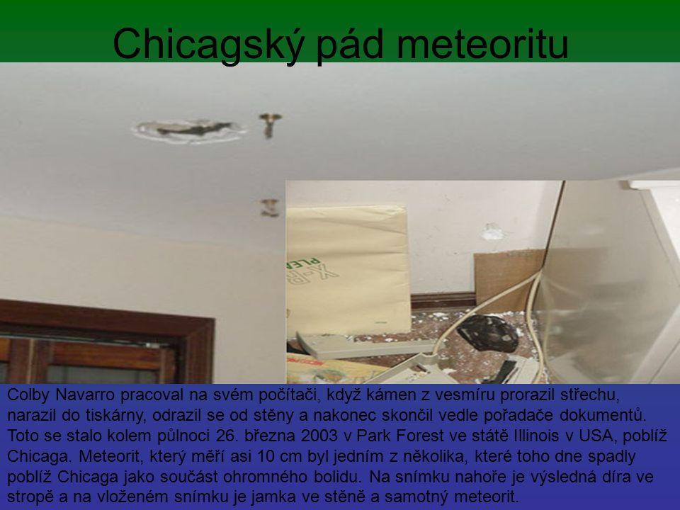 Chicagský pád meteoritu