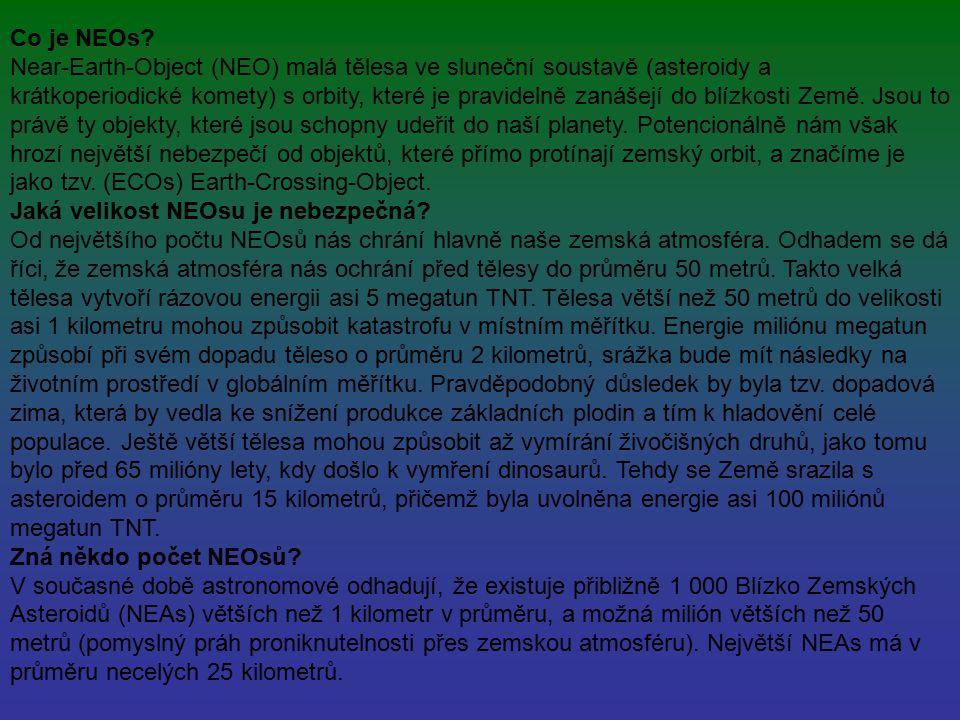 Co je NEOs.