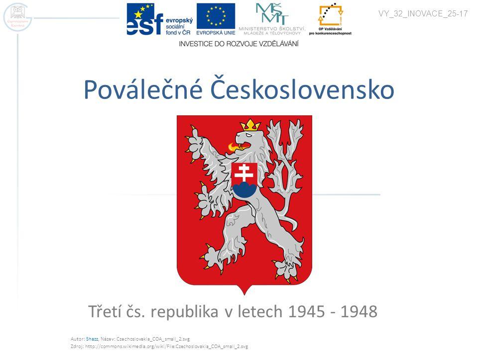 Poválečné Československo