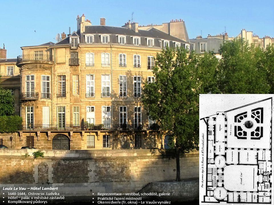 Louis Le Vau – Hôtel Lambert