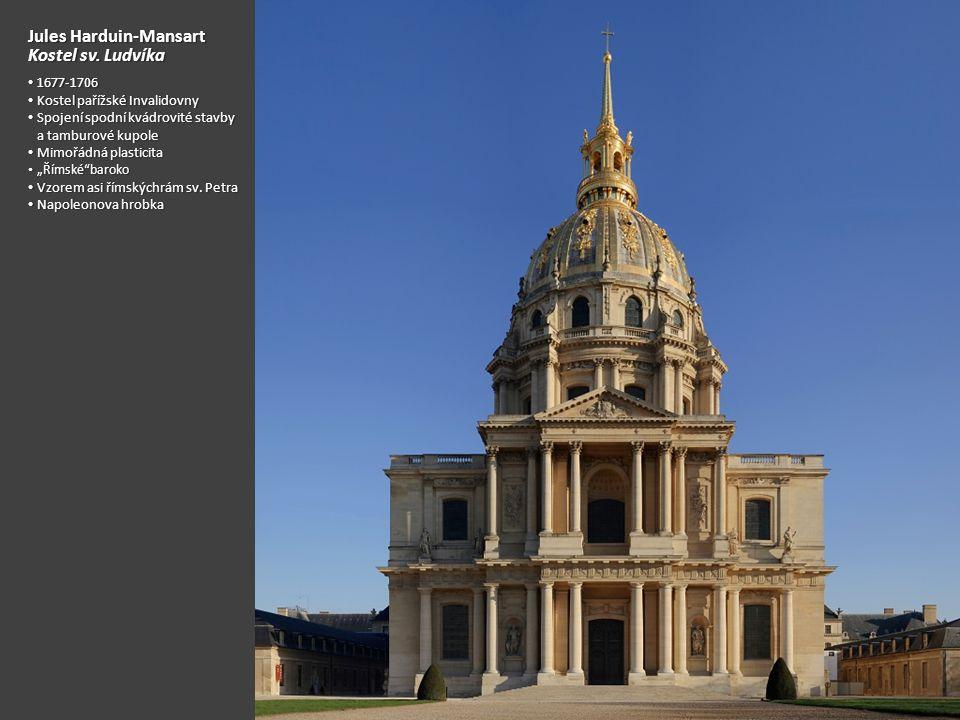 Jules Harduin-Mansart Kostel sv. Ludvíka
