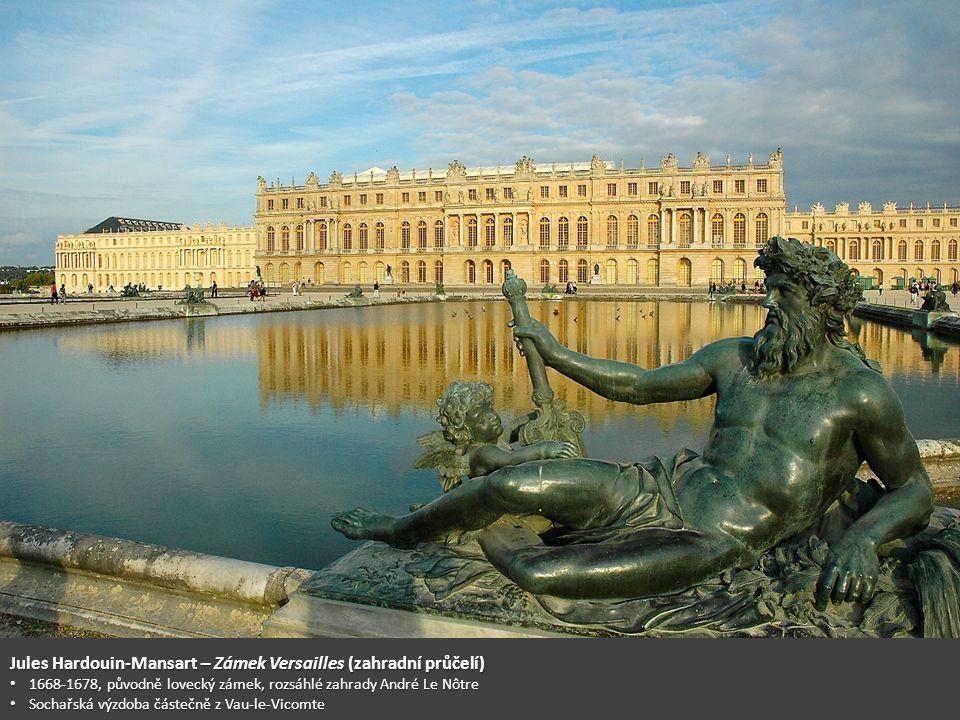 Jules Hardouin-Mansart – Zámek Versailles (zahradní průčelí)