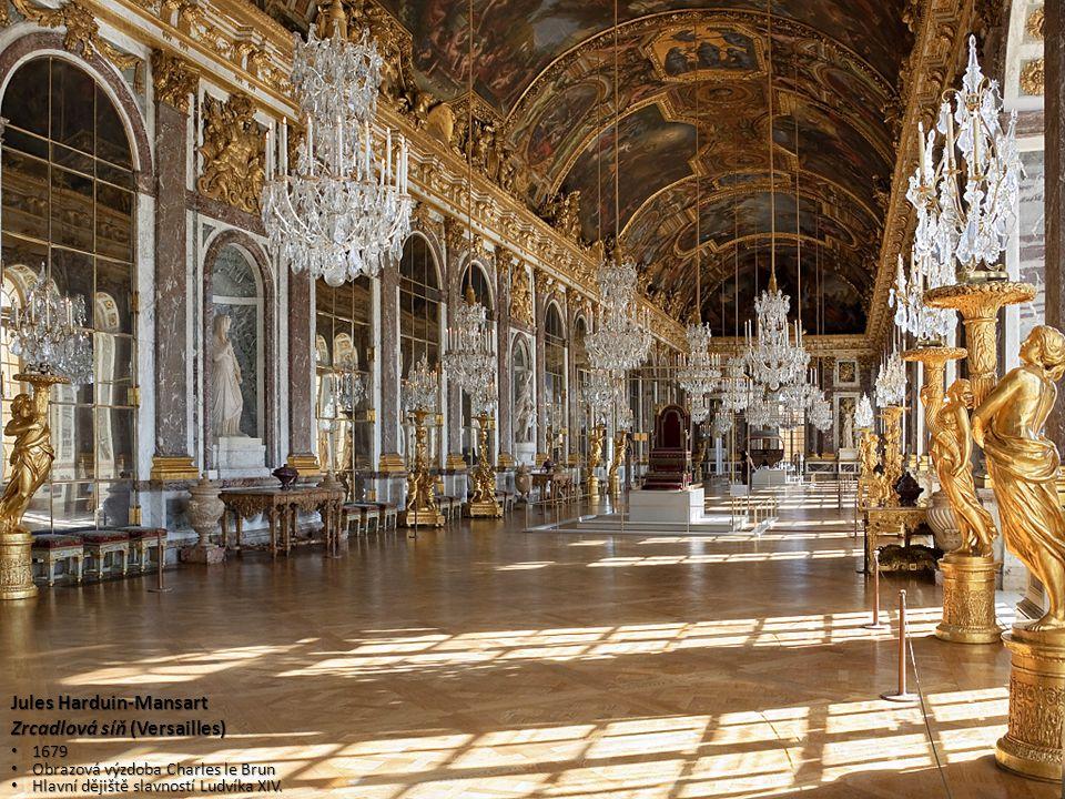 Jules Harduin-Mansart Zrcadlová síň (Versailles)