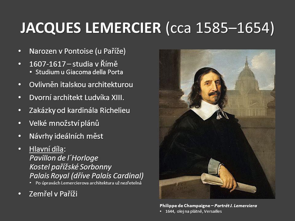 JACQUES LEMERCIER (cca 1585–1654)