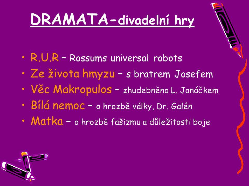 DRAMATA-divadelní hry