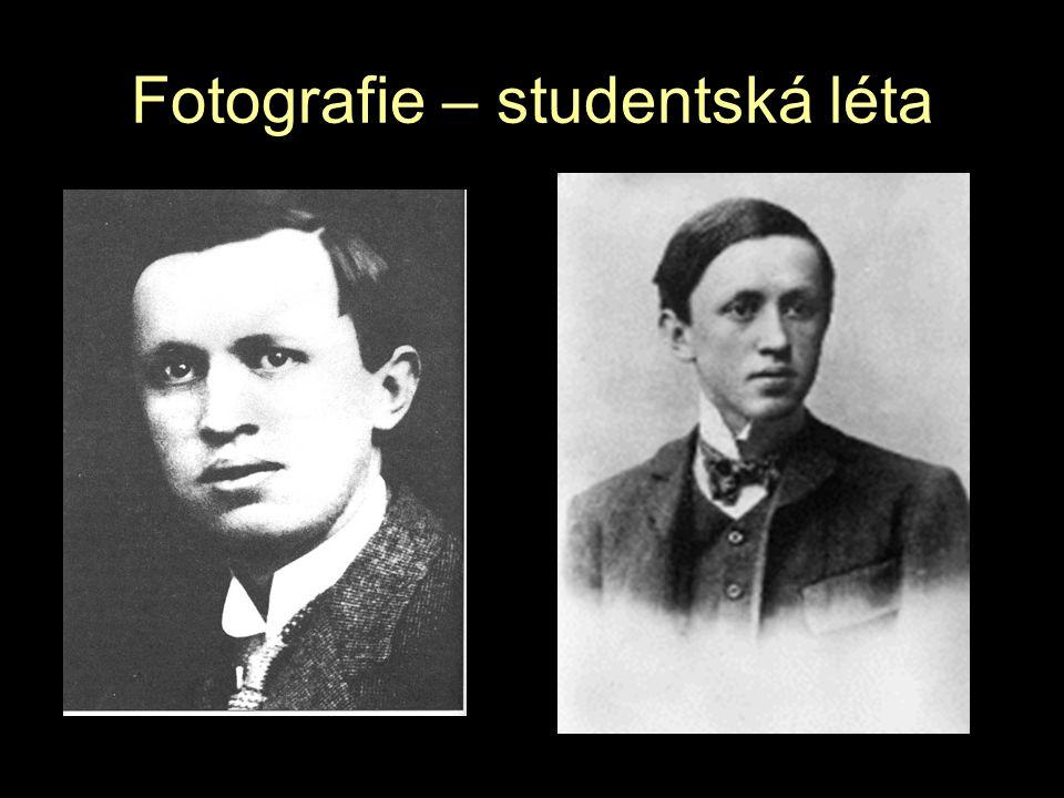Fotografie – studentská léta