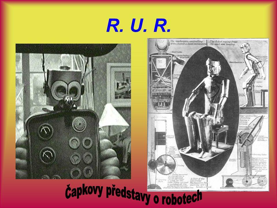 Čapkovy představy o robotech