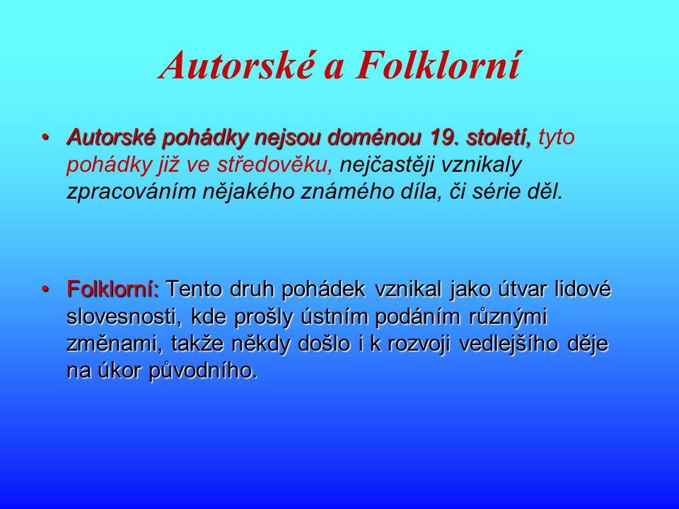 Autorské a Folklorní