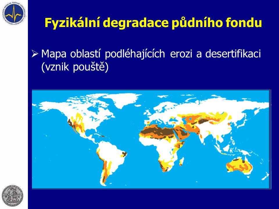 Fyzikální degradace půdního fondu