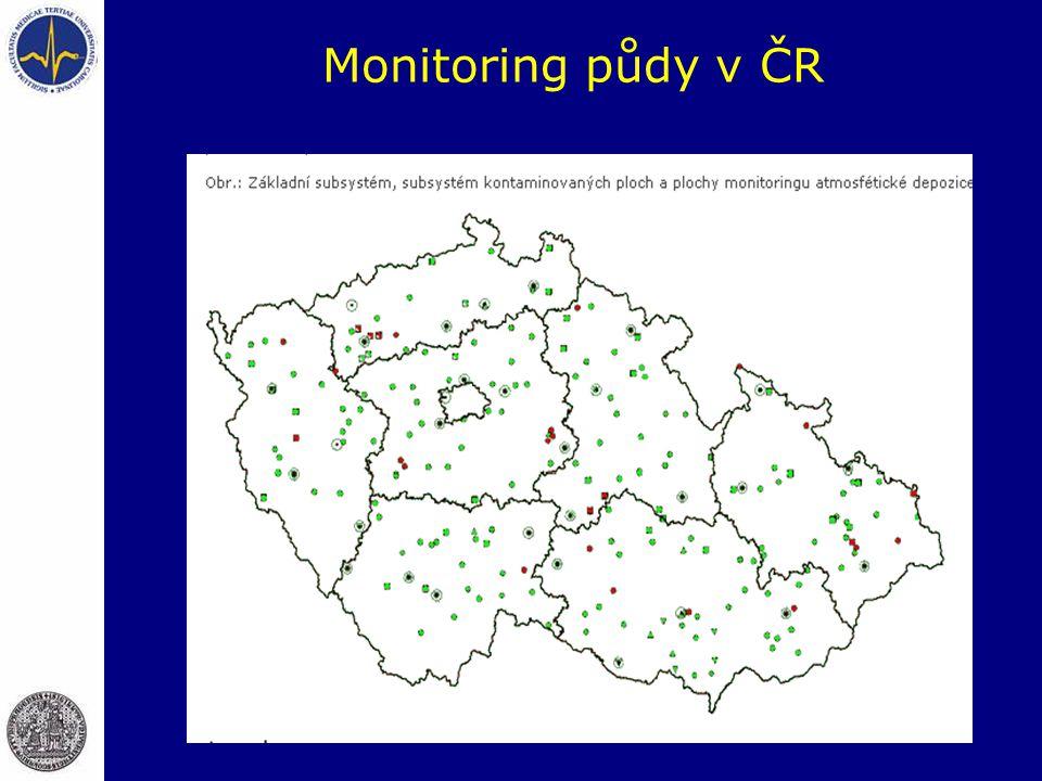 Monitoring půdy v ČR