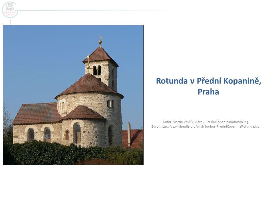 Rotunda v Přední Kopanině, Praha